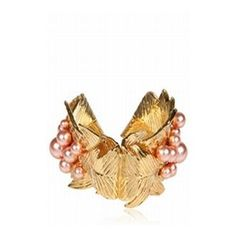 Koh Samui Loves ...  FRANCESCO SCOGNAMIGLIO Leaves And Pearl Bracelet