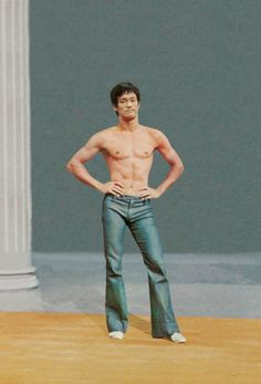 I need to start watching some Bruce Lee movies! What a sexy Sagittarian.