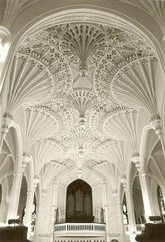 Interior of Unitarian Church in Charleston, South Carolina