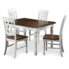 @Overstock   The Monarch Rectangular Dining Table Set By Home Styles Blends  Upscale Design With