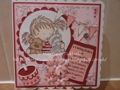 LOTV image and sentiment, friends card, birthday card, Spellbinders