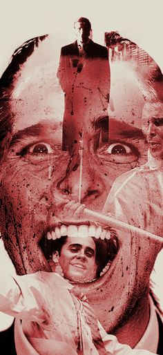 American Psycho - Halloween Night by Patrick Seymour, via Behance
