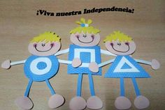 Más cien dibujos y manualidades para niños del Día de la Independencia Argentina en Tucumán Craft Activities For Kids, Preschool Crafts, Math Activities, Crafts For Kids, Arts And Crafts, Diy Crafts, English Phonics, Ideas Para Fiestas, Art School