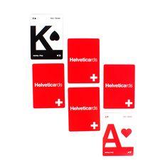 Fab.com | Helveticards Original Red Black