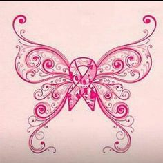 Breast Cancer Tattoo..I wouldn't get it personally but the concept is cute!