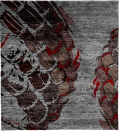Copiapite A Hand Knotted Tibetan Rug from the Tibetan Rugs collection at Modern Area Rugs