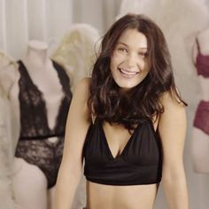 Bella Hadid Struts Like A Pro At Her Victoria's Secret Show Audition — Watch