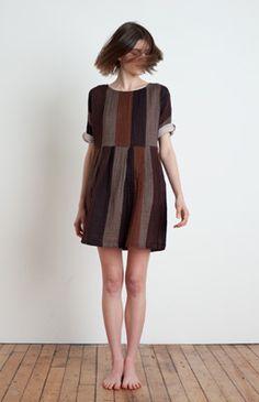 Ace & Jig Pleated Mini Dress - Birch $188