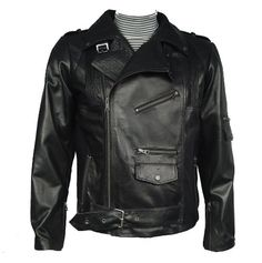 Nettailor Mens 1091 Leather Jacket with Removable Real REX RABBIT FUR Liner
