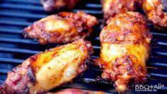 USA - Smoked Louisville chicken wings