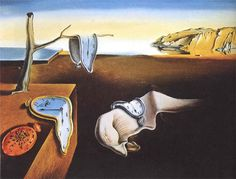 The Persistence of Memory, 1931 by Salvador Dali. Salvador dali is a great surealistic artist.probably one of the most famous ones and a great inspiration for surealistic photography Salvador Dali Gemälde, Salvador Dali Paintings, Most Famous Paintings, Famous Artists, Art Paintings, Painting Art, Kahlo Paintings, Funny Paintings, Painting Styles