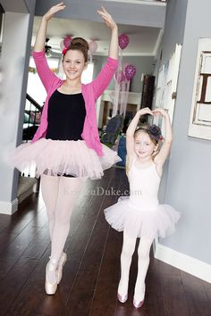 Come see the fun pictures from this Ballerina Birthday Party for a 5 year old.  KristenDuke.com