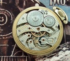Men's 1905 Hamilton 960 Railroad Pocket Watch | Strickland Vintage Watches