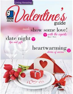 We're officially over the New Year's haze & ready to show some love this month, with our #Valentine's Guide!