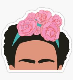 High quality Frida Kahlo gifts and merchandise. Inspired designs on t-shirts, posters, stickers, home decor, and more by independent artists and designers from around the world. Stickers Cool, Tumblr Stickers, Printable Stickers, Laptop Stickers, Planner Stickers, Aesthetic Stickers, Artsy, Drawings, Crafts