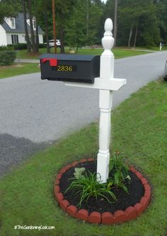 Finished Mailbox make over