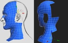 CGArena : Head Modeling in 3ds max