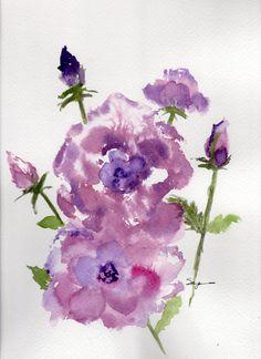 Watercolor by Sharon Petersen 2015