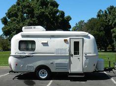 17 foot Casita fiberglass 'egg travel trailer' camper