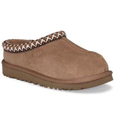 ce10c7af660 UGG Tasman Kids Chestnut Suede Slippers