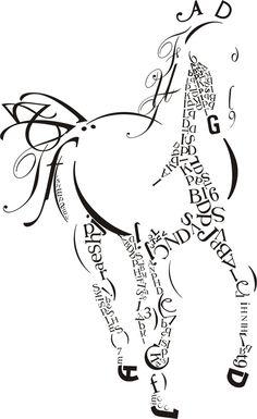 Creative Art: Creative Calligraphy and Typography mix Art Typography Portrait, Typography Art, Modern Calligraphy, Poema Visual, Et Tattoo, Rune Symbols, Illustration Art, Illustrations, Creative Artwork