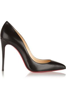 Christian Louboutin Pigalle Follies 100 leather pumps | NET-A-PORTER