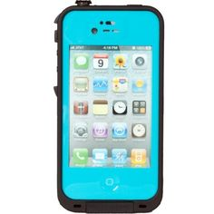New Waterproof Shockproof Dirtproof Snowproof Protection Case Cover for Iphone4 4s (Light Blue). WATERPROOF SWIM SURF RAIN DRINKS Take REDPEPPER surfing,swimming and snorkeling up to 6.6 ft(2 meters)underwater or just relax in the bath. DIRTPROOF DUST SAND GRIT MUD REDPEPPER takes you through dirt dust,sandstorms and can withstand mud,food and fine construction dust. SNOWPROOF ICE SNOW SLEET COLD With REDPEPPER your galaxy is completely sealed from snow and ice.Ski or snowboard with...