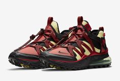 6cfa879c0d1d0c Nike Air Max 270 Bowfin Color  Black Black University Red-Light Citron