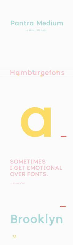 Pantra Medium. Fonts. $20.00