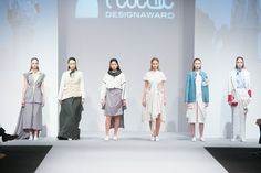 The EcoChic Design Award 2014/15 Malaysia finalist Veronica Lee full minimal waste collection #ECDA