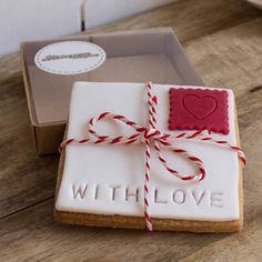 With Love Cookie Gram