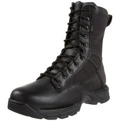 """Danner Men's Striker II GTX Uniform Boot Danner. $181.98. Plain toe. Non-metallic construction. Rubber sole. 8"""" of support and durability. Lightweight boot on a performance platform. Leather and cordura. Oil and slip resistant"""
