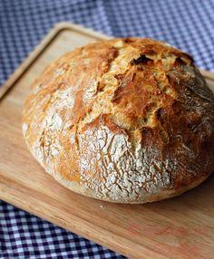 Kochen mit Herzchen - ♥ Mein Koch-Tagebuch mit viel Herz ♥: Brot ohne Kneten