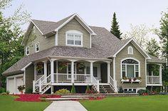 The Grange House Plan  Plan Number: BHG-1152  Stories: 2  Total Living Area: 2295 Sq. Ft.  First Floor: 1286 Sq. Ft.  Second Floor: 1009 Sq. Ft.  Bedrooms: 3  Full Baths: 2, Half Baths: 1  Width: 50 Ft.   Depth: 46 Ft.   Foundation:  Basement