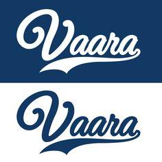 Vaara Pesis Logo  #logodesign #logo #baseball #typography #baseball-logo