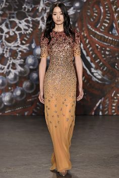 Jenny Packham - Fall 2015 Ready-to-Wear