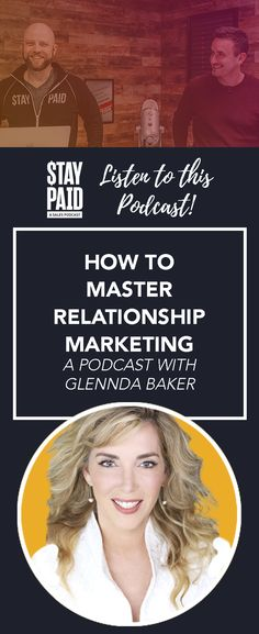 Who should listen to this Stay Paid podcast: Anyone who wants to understand how they can effectively implement relationship marketing in their business. podcast episode business marketing podcast - real estate agent business - real estate marketing - realtor marketing ideas #realtor #realestate #marketing Marketing Ideas, Business Marketing, Relationship Marketing, Real Estate Marketing