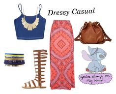 """""""Summer vacay part 5: Dressy Casual"""" by kmjfashion ❤ liked on Polyvore featuring Jane Norman and Charlotte Russe"""