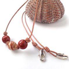 """Stripy Caramel"" by #MiiSU • Filigree Collection • • Visit us in our newly opened shop!  http://misu.co.uk • •  #MiisuJewel on #etsy •  # #caramel #jasper #flowersjasper #stripy #silver925 #sterlingsilver #lobsterclasp #designnecklace #DiamondKnot #whattowearnow #etsyseller #craftposure #craftbuzz #makersvillage  #unique #necklace #jck"