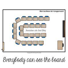 super Ideas for seating chart classroom middle school lesson plans Classroom Desk Arrangement, Classroom Seating Arrangements, Desk Arrangements, Seating Chart Classroom, Classroom Charts, Classroom Design, Seating Charts, Classroom Ideas, Middle School Classroom