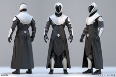 Our post on the concept art behind the first Destiny remains one of the best (and easily the biggest) Fine Art has put together. So it's a pleasure today to begin the process for Destiny Jedi Armor, Sci Fi Armor, Futuristic Armour, Futuristic Art, Character Concept, Character Art, Character Design, Fantasy Inspiration, Character Inspiration