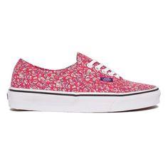 1c60c2cac9 Vans Authentic Liberty (Leaves Pink) - Skate Shoes - www.consortium.
