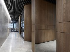 Studio Tate has revamped the floor of an unusual hexagonal building to create lavish offices for PDG, a property development firm based in Melbourne. The studio was given the task of turning t. Gothic Home Decor, Retro Home Decor, Luxury Home Decor, Luxury Homes, Interior Design Website, Office Interior Design, Office Interiors, Lobby Interior, Interior Architecture