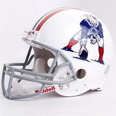 338d464ff19 Riddell New England Patriots 1965-1981 Throwback Full-Size Authentic Helmet