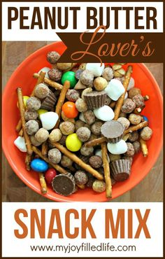 Peanut Butter Lover's Snack Mix
