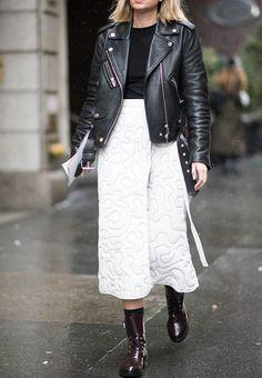 new york fashion week 2017 flat boots