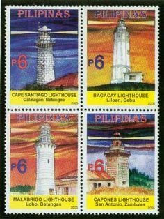 Filatelia Faros de Filipinas, 2005