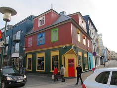 Las Casa de Colores de Reikiavik en Islandia – El Coleccionista de Instantes
