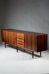 Sideboard designed by Arne Vodder for Sibast, Denmark. 1958.
