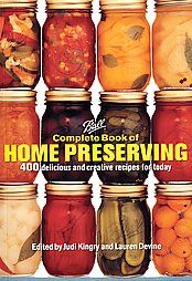 Encompassing four hundred delicious recipes, a comprehensive guide to home preserves features a wide array of salsas, savory sauces, chutneys, pickles, relishes, jams, jellies, fruit spreads, and more.